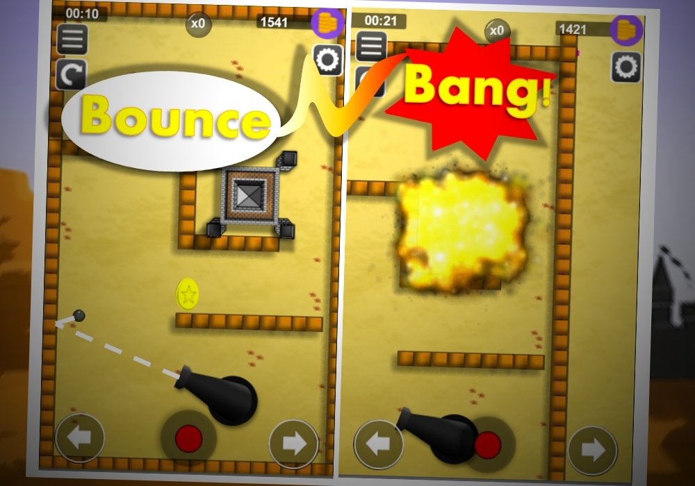 bounce n bang gameplay show
